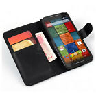 Book Flip Wallet stand Leather Case cover For Motorola Moto X+1 Victara XT1097 d