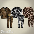 "NWT Vaenait Baby Infant Toddler Kid Clothes Sleepwear Pyjama Set ""Safari Park"""