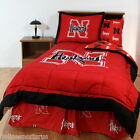 Nebraska Cornhuskers Comforter & Sham Set Twin to King Size Reversible
