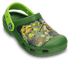 Crocs Kids Teenage Mutant Ninja Turtles Clogs - Seaweed/Volt Green