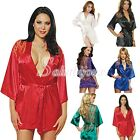Ladies Sexy Lingerie Seduction Sex Toys Robe G-string Sleepwear New