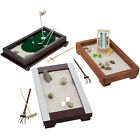 Desktop Zen Garden Office Desk Stress Relief Calm Relax Sand Rocks Mini Rake Kit