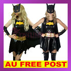 Ladies Womens Mens Batgirl Batwoman Batman Gotham Halloween Superhero Costume