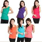 Trend Super Stretch Maternity Pregnant women Breastfeeding Vests UKMW