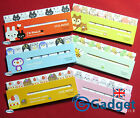 2x Sets of Cute Animals Post It Sticky Page Markers - Kawaii, Revision, Notes