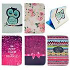 Various Pattern Flip Leather Stand Skin Case Cover For Samsung Tablet PC Series