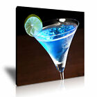 COCKTAIL MARTINI Canvas Framed Print Restaurant Deco ~ More Size