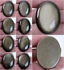40mm Gemstone natural golden obsidian oval cab cabochons *each one pictured*