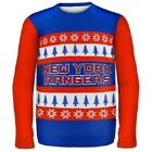 New York Rangers Ugly Sweater - Wordmark One Too Many - NHL Christmas Holiday
