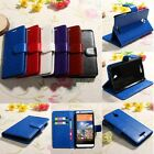 Magnetic PU Leather Flip Wallet Card Cover Case Skin Stand For HTC Desire 510