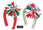 Mud Pie Holiday Christmas Pink or Red Jingle Bell Headband
