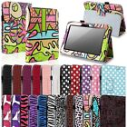 Pattern PU Leather Stand Wake/Sleep Case Cover+Accessory for Kindle Fire HD 7