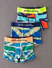 Boden Johnnie b Boys Brand New 3 Pack Jersey Boxers Union Jacks