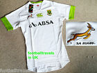 S M XL XXL 3XL SPRINGBOKS SOUTH AFRICA TEST TIGHT RUGBY SHIRT Canterbury Jersey
