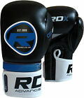 RDX Rex Leather Boxing Gloves Fight Punch Bag MMA Muay Thai Grappling Pads UFC B