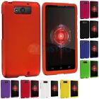 For Motorola Droid MAXX XT1080M Phone Color Hard Snap-On Rubberized Case Cover