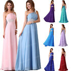 2015 Designer~Beaded Long Graduation Bridesmaid Evening Prom Party Gown Dresses