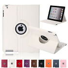 360 Rotating Leather Case Smart Stand Cover for Apple iPad 2 3 4