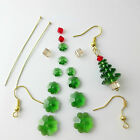 Crystal Christmas Tree Earrings Kit with Instructions