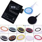 Qi Wireless Charger Pad + Receiver Card for Samsung Galaxy Note 3 N9000 #BMT