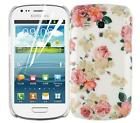 JAMMYLIZARD Garden Collection Back Cover Hard Case for Samsung S3 Mini