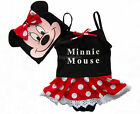 Girls Kids Swimwear Minnie Mouse Tankini Swimsuit Bikini 3-8Y Beachwear Bathing