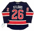 MARTIN ST LOUIS NEW YORK RANGERS REEBOK NHL PREMIER THIRD JERSEY NEW W TAGS