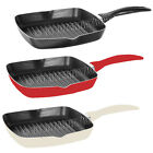 24CM GRILL NON STICK FRYING PAN KITCHEN FRY COOKING FRYPAN SURFACE INDUCTION NEW