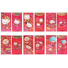 SANRIO KITTY/MELODY/TABO/TWIN STAR LUNAR YEAR RED POCKET/ENVELOP 6 TYPES(9-6432)