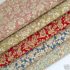 per 1/2 Mtr / fat quarter AMELIE floral 100% cotton fabric dressmaking craft