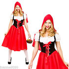 LADIES RED RIDING HOOD FAIRYTALE BOOK WEEK TEACHER STORYBOOK FANCY DRESS COSTUME