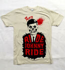 Misfits - Ride Johnny Ride - vintage white fitted t-shirt - Official Merch