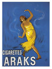 4966.Cigarettes arks.woman dancing with cigarettes.POSTER.Decoration.Graphic Art