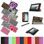 Slim Fit Leather Case Stand Cover/Film/Pen for Verizon Ellipsis 8 4G LTE Tablet