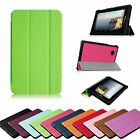 For Verizon Ellipsis 7 4G LTE Tablet Lightweight Slim Leather Case Stand Cover