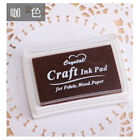 Craft Rubber Stamps Sponge Plastic Paper/Wood/Fabric Oil Based Ink Pad 60x38mm