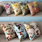 Decorative Handmade Colorful Beautiful Floral Throw Pillow Case Cushion Cover