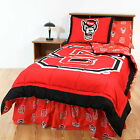 North Carolina Wolfpack Comforter Sham & Throw Blanket Twin to King Size