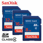 SanDisk SD 8GB 16GB 32GB CLASS 4 Flash Memory Card SDHC for Camera Lot