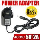 NEW 5V 2A AC-DC SWITCHING ADAPTER POWER SUPPLY ADAPTOR 3PIN UK SELLER