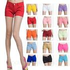 Ladies Color trousers sexy Summer Womens Denim Shorts New Short Pants Size