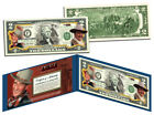 "JOHN WAYNE ""The Duke"" Colorized U.S. $2 Bill Legal Tender *Officially Licensed*"