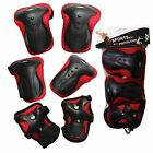 2 Kids Skateboard Scooter Bicycle skate lbow Knee Wrist Protective Guard Pad
