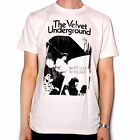 VELVET UNDERGOUND T SHIRT - WHITE LIGHT / WHITE HEAT 100% OFFICIAL LOU REED