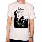 VELVET UNDERGROUND T SHIRT  WHITE LIGHT / WHITE HEAT ADVERT STEP SOFTLY OFFICIAL