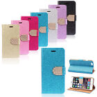 Luxury Bling Glitter Wallet Flip Leather Case Cover For 4.7 iPhone 6 Brand New
