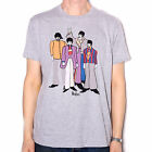 THE BEATLES T SHIRT - YELLOW SUBMARINE CARTOON CHARACTERS 100% OFFICIAL LICENSED