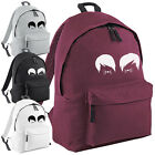 Dan and Phil Cat Whiskers Backpack - Vlogger Fashion Unisex School College Bag
