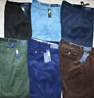 NWT Polo Ralph Lauren Corduroy Pants Trousers Classic Fit Black Blue Brown Green