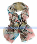 5 Colors Beautiful Lady's Warm Long 100% Wool Scarf/Shawl/Wrap NWT | FJUS